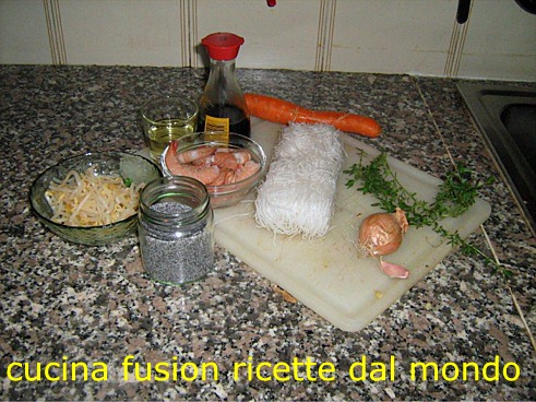 Ricette di cucina cinese spaghetti di soia