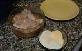 Ricetta fusion fotografata di ricette di cucina fusion e - Come cucinare le cosce di pollo in padella ...